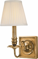 Hudson Valley 201-AGB Sheldrake Aged Brass Wall Sconce Lighting