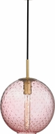 Hudson Valley 2010-AGB-PK Rousseau Modern Aged Brass 11.25  Lighting Pendant