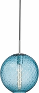 Hudson Valley 2010-PC-BL Rousseau Contemporary Polished Chrome 11.25  Pendant Lamp
