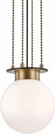 Hudson Valley 2011-AOB Gunther Modern Aged Old Bronze Mini Pendant Lighting