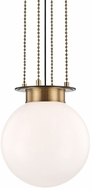 Hudson Valley 2014-AOB Gunther Modern Aged Old Bronze 14  Lighting Pendant