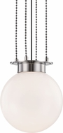 Hudson Valley 2014-PN Gunther Contemporary Polished Nickel 14  Pendant Lamp