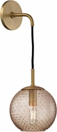 Hudson Valley 2020-AGB-BZ Rousseau Contemporary Aged Brass 14 Light Sconce