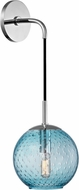 Hudson Valley 2020-PC-BL Rousseau Contemporary Polished Chrome 14 Wall Light Fixture