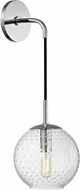 Hudson Valley 2020-PC-CL Rousseau Contemporary Polished Chrome 14 Wall Lighting Sconce