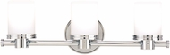 Hudson Valley 2053-PC Southport Contemporary Polished Chrome Xenon 3-Light Bath Wall Sconce