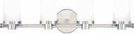 Hudson Valley 2054-PC Southport Contemporary Polished Chrome Xenon 4-Light Bathroom Lighting Sconce