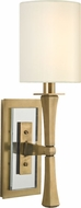 Hudson Valley 2111-AGB York Aged Brass Wall Sconce