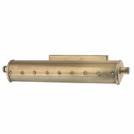 Hudson Valley 2118-AGB Gaines Vintage Aged Brass Finish 18.25 Wide Picture Lamp