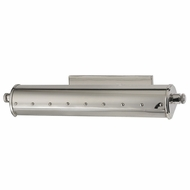 Hudson Valley 2118-PN Gaines Retro Polished Nickel Finish 3.25 Tall Picture Lighting Fixture