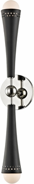 Hudson Valley 2122-PN Tupelo Contemporary Polished Nickel LED Wall Light Sconce