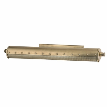 Hudson Valley 2126-AGB Gaines Vintage Aged Brass Finish 25.5  Wide Picture Light