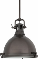 Hudson Valley 2212-HB Pelham Retro Historic Bronze Pendant Light