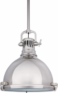 Hudson Valley 2212-SN Pelham Retro Satin Nickel Pendant Lamp