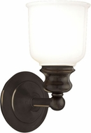 Hudson Valley 2301-OB Riverton Contemporary Old Bronze Wall Light Sconce