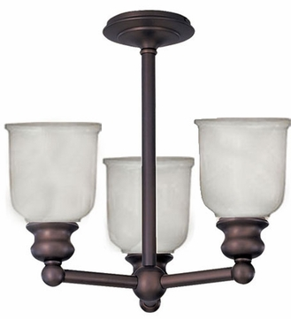 Hudson Valley 2313f Riverton Semi Flush Ceiling Light Fixture