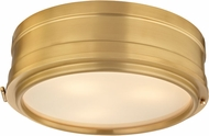 Hudson Valley 2314-AGB Rye Aged Brass 14 Ceiling Lighting Fixture
