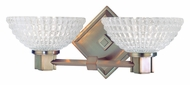Hudson Valley 2332 Buchanan Xenon 13 Inch Wide 2 Light Crystal Bathroom Sconce