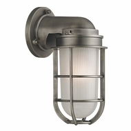 Hudson Valley 240-AN Carson Retro Antique Nickel Finish 10  Tall Lighting Sconce