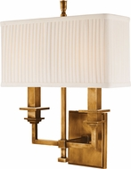Hudson Valley 242-AGB Berwick Aged Brass Wall Sconce Lighting