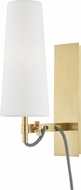 Hudson Valley 2421-AGB Lanyard Aged Brass Light Sconce