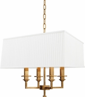 Hudson Valley 244-AGB Berwick Aged Brass Hanging Lamp