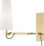 Hudson Valley 2441-AGB Lanyard Aged Brass Wall Swing Arm Lamp