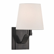 Hudson Valley 2461-OB Clayton Old Bronze Finish 6  Wide Wall Lighting Sconce