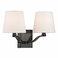 Hudson Valley 2462-OB Clayton Old Bronze Finish 9  Tall Wall Light Sconce