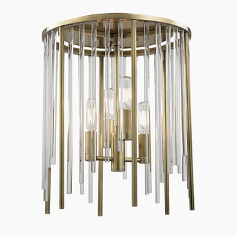 Hudson Valley 2510 Agb Lewis Aged Br Ceiling Lighting