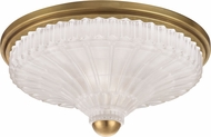 Hudson Valley 2513-AGB Paris Aged Brass 14  Home Ceiling Lighting