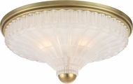 Hudson Valley 2516-AGB Paris Aged Brass 17  Overhead Lighting Fixture