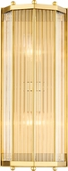 Hudson Valley 2616-AGB Wembley Modern Aged Brass Wall Sconce Lighting