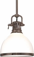 Hudson Valley 2623-HB Randolph Retro Historic Bronze Drop Lighting Fixture