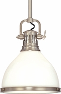 Hudson Valley 2623-SN Randolph Retro Satin Nickel Pendant Light