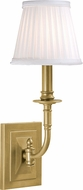 Hudson Valley 2701-AGB Lombard Aged Brass Wall Light Sconce