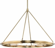 Hudson Valley 2745-AGB Chambers Contemporary Aged Brass 45  Chandelier Lamp