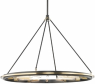 Hudson Valley 2745-AOB Chambers Modern Aged Old Bronze 45  Chandelier Light