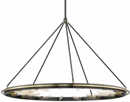 Hudson Valley 2758-AOB Chambers Contemporary Aged Old Bronze 58  Chandelier Light