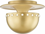 Hudson Valley 2809-AGB Nash Modern Aged Brass Ceiling Lighting