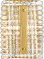Hudson Valley 2852-AGB Athens Modern Aged Brass Lighting Wall Sconce