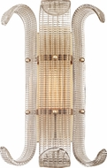Hudson Valley 2900-AGB Brasher Modern Aged Brass Wall Mounted Lamp