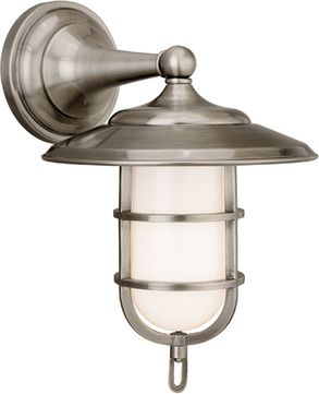 Hudson Valley 2901-AN Rockford Nautical Antique Nickel Indoor / Outdoor Light Sconce