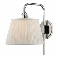 Hudson Valley 2931-PN Fillmore Polished Nickel Finish 14.5  Tall Light Sconce