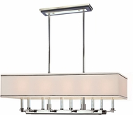 Hudson Valley 2938-PN Collins Contemporary Polished Nickel Island Lighting