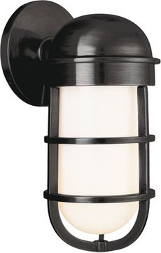 Hudson Valley 3001-OB Groton Nautical Old Bronze Indoor / Outdoor Wall Light Sconce