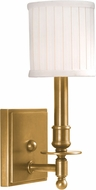 Hudson Valley 301-AGB Palmer Aged Brass Wall Sconce