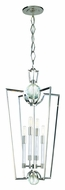 Hudson Valley 3017-PN Waterloo Nickel 33 Inch Tall 4 Lamp Drop Ceiling Lighting