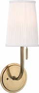 Hudson Valley 311-AGB Sanford Aged Brass Wall Sconce Lighting