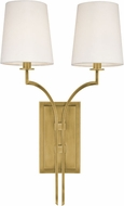 Hudson Valley 3112-AGB Glenford Aged Brass Wall Sconce Lighting